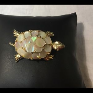 New listing signed ART MOP TURTLE 🐢 PIN
